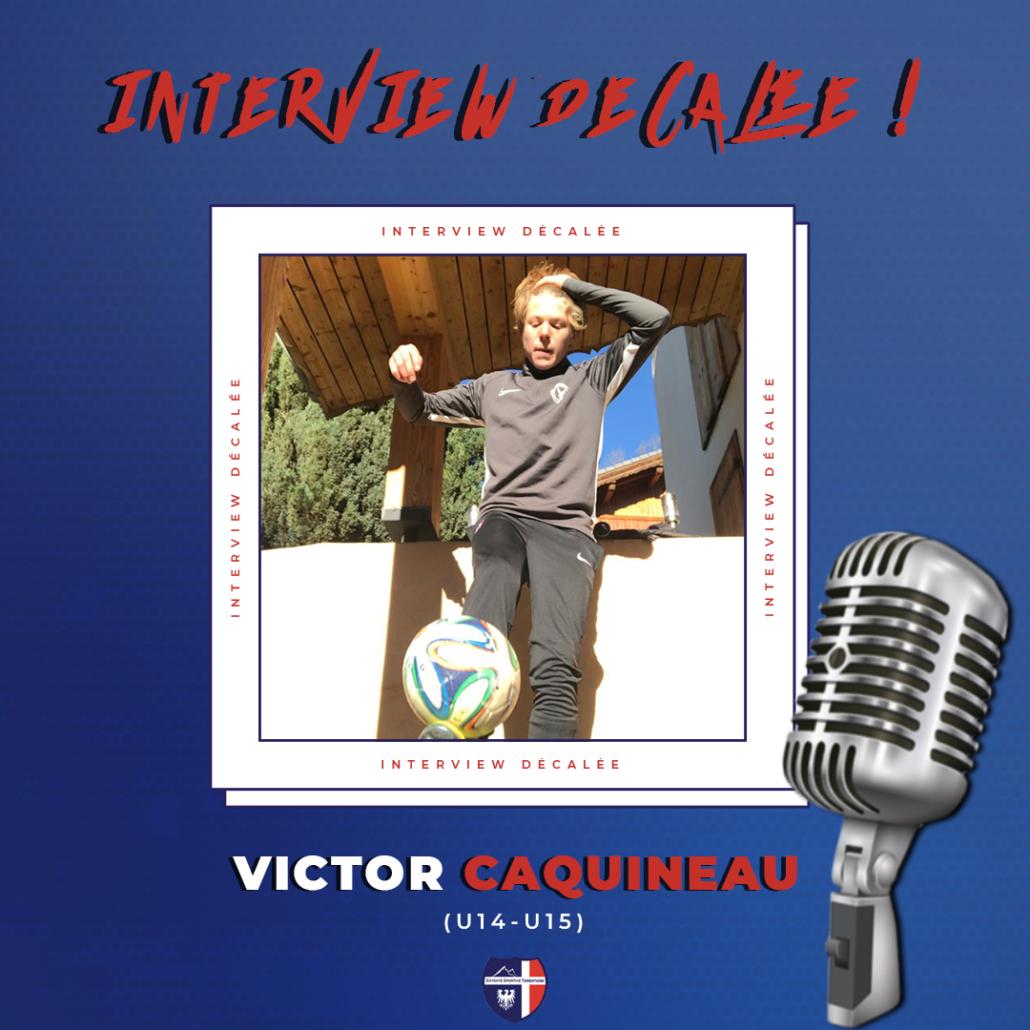 Interview décalée Victor Caquineau